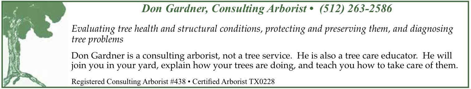don gardener consulting arborist