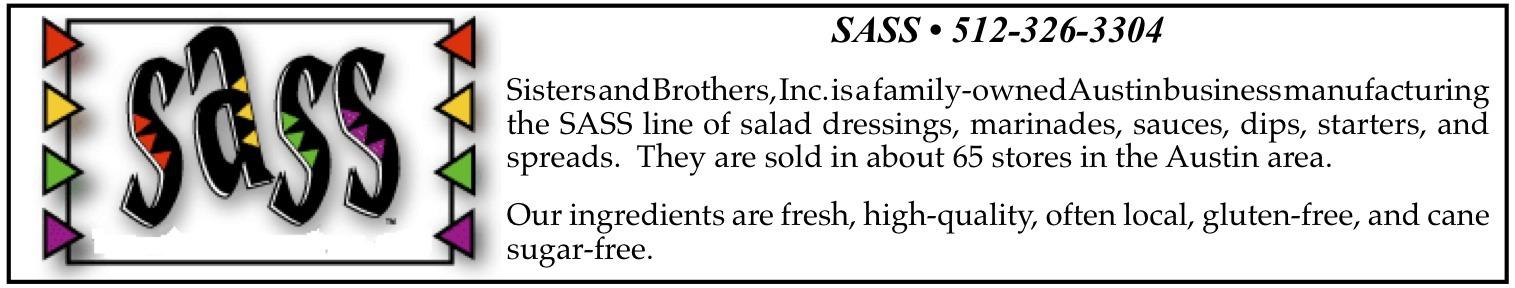 sass salad dressings