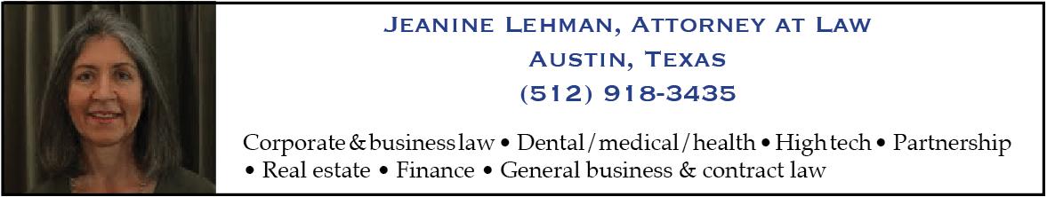 jeanine lehman attorney