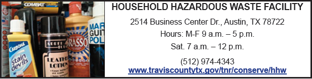 travis county household hazardous waste